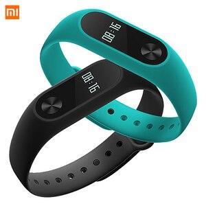 Image 4 - Xiaomi Mi Band 2 Smart Wristband Fitness Bracelet Xiomi Miband 2 Heart Rate Monitor Xaomi Activity Tracker Xaiomi Smart Band2