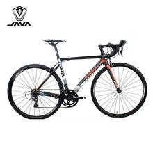 JAVA VELOCE2 Road Bike Aluminium Frame Carbon Fork 700C Racing Bicycle 16 Speed Caliper Brake City