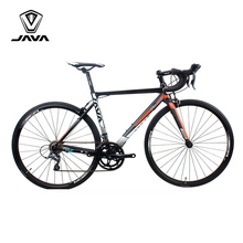 JAVA VELOCE2 Road Bike Aluminium Frame Carbon Fork 700C Racing Bicycle 16 Speed Caliper Brake City Road Bikes