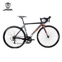 JAVA VELOCE2 Road Bike Aluminium Frame Carbon Fork 700C Racing Bicycle 16 Speed Caliper Brake City Road Bikes