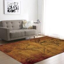 World Map Pattern Carpets For Living Room Kids Bedroom Carpet Large Size Home Decor Mat Office Chair Floor Mats