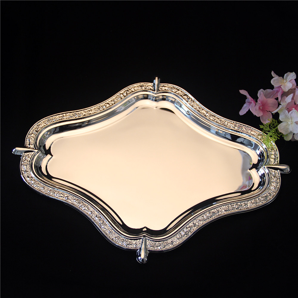 Decorative Metal Tray Popular Decorative Metal Trays Buy Cheap Decorative Metal Trays