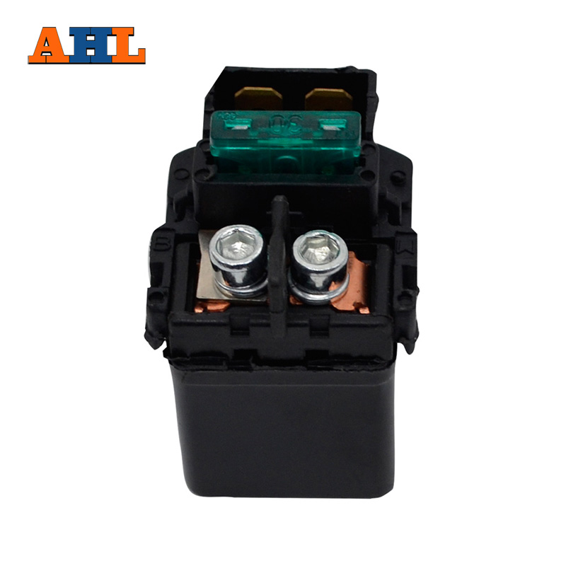 AHL Street Motorcycle Electrical Parts Starter Solenoid Relay Ignition Key Switch For KAWASAKI ZX1000 NINJA ZX-10R 2004-2007