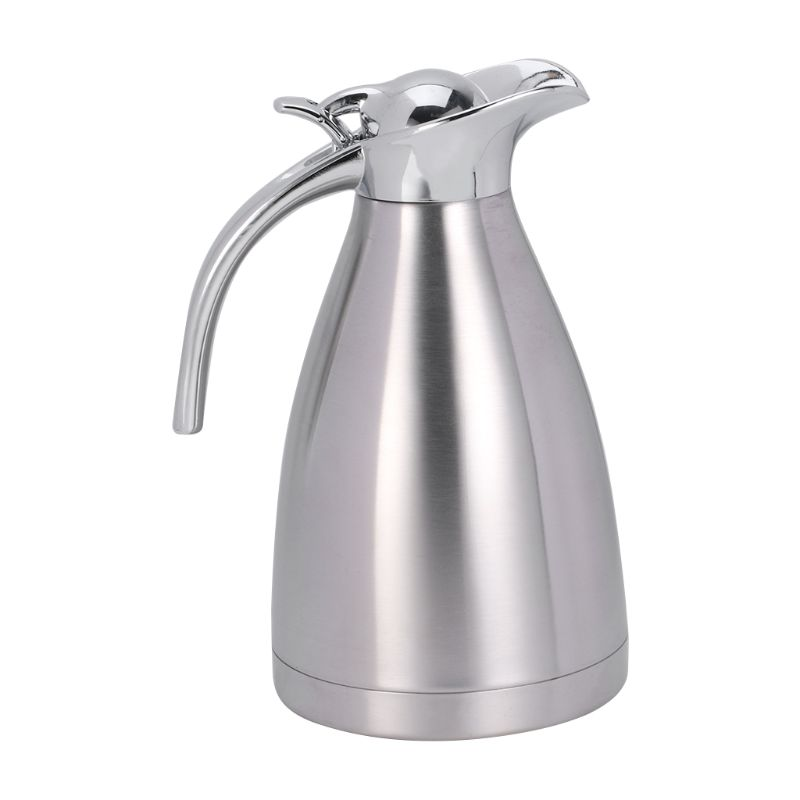 Stainless Steel Vacuum Insulation Pot Hot Water Kettle Thermo Jug 1.5L 2.0L stainless steel vacuum coffee insulation pot