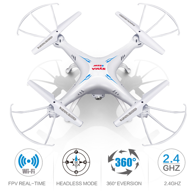 Syma X5SW Drone with WiFi Camera Real-time Transmit FPV Quadcopter (X5C Upgrade) 2.0MP HD Camera Dron 2.4G 4CH RC Helicopter