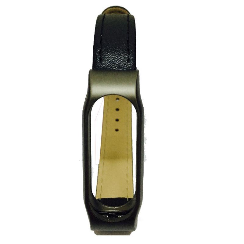 For Xiaomi Mi Band 2 Leather Strap Wrist Band For Mi band 2 Screwless Bracelet for Miband 2 For mi 2 wristband Smart Accessory 7