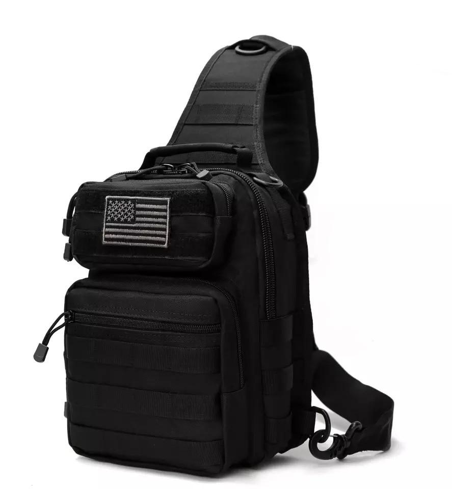 3cc4e83a969 REEBOW GEAR Tactical Sling Bag Pack Military Rover Shoulder Sling Backpack  Molle Assault Range Bag Everyday