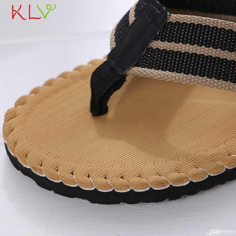 Удобные сандалии; летние мужские пляжные вьетнамки; сандалии; тапочки с открытым носом; Домашние шлепанцы; Мужская обувь; размеры 40-45; 18Dec3