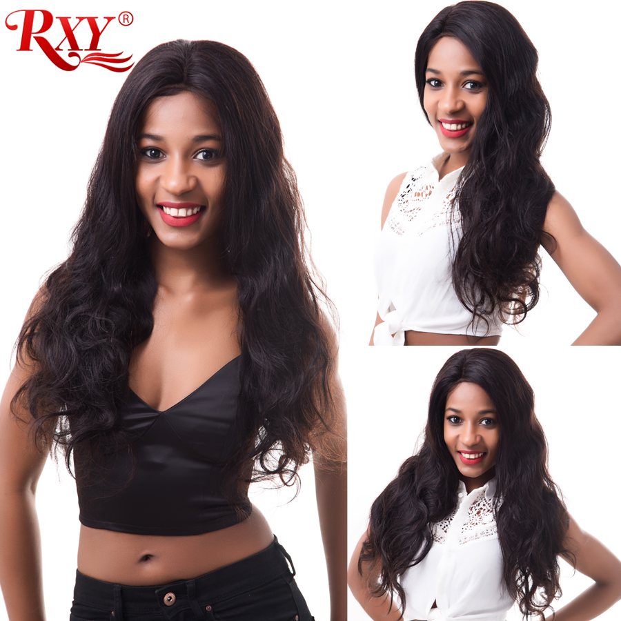 RXY Full Lace Wigs Human Hair With Baby Hair Brazilian Body Wave Pre Plucked Full Lace Human Hair Wigs For Black Women Remy Hair (6)