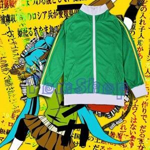 Image 4 - Anime Vocaloid Matryoshka Miku 렌 린 구미 코스프레 의상 후드 티 자켓 유니섹스 후드 지퍼 코트 스웨트 무료 배송
