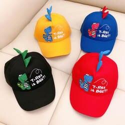 Новые детские Мультяшные шляпы Корейский мультфильм маленький динозавр открытый вечерние для мальчиков и девочек прекрасный милая