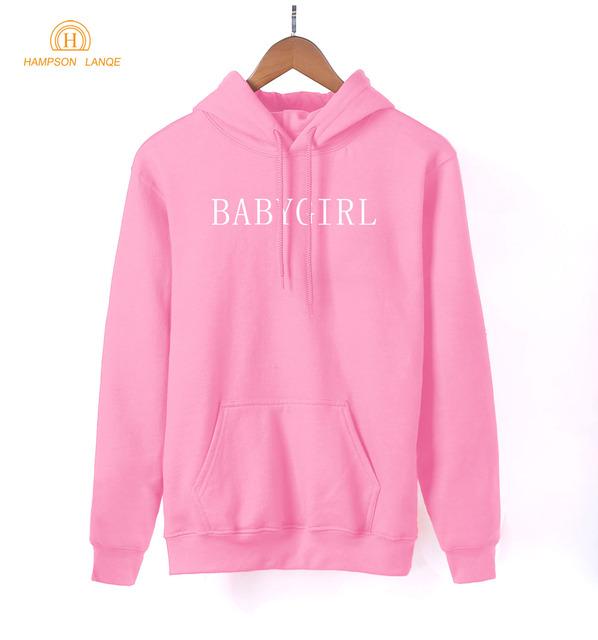 Kawaii K-pop Sweatshirts Women 2018 Spring Autumn Fashion Women's Hoodies Black Gray Pink White Red Blue Fleece Hoody