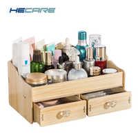 HECARE nouvelle boîte à bijoux en bois Europe cercueil de bureau pour les décorations pour le stockage bricolage Rangement de bijoux organisateur de stockage de maquillage