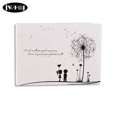 1x dandelion 10 inch Photo Album Wedding Photos kids Family Memory Record Scrapbooking Album Handmade Sticky Type scrapbooking