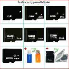 free shipping Micro original TF SD Card 64GB 16GB 32GB 128GB Class10 2GB 4GB 8GB Class 4 Flash Memory Card reader for Microsd