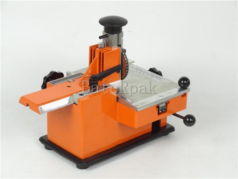 Ręczna maszyna do znakowania BateRpak YL-360, aluminiowa maszyna do - Narzędzia ręczne - Zdjęcie 3