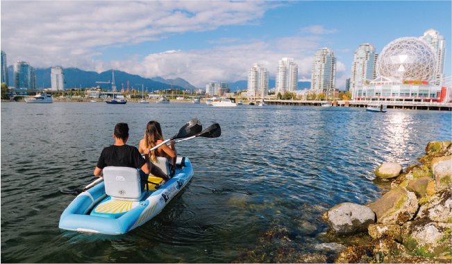 Անվճար առաքում Aquamarina DetachableInflatable Standard - Ջրային մարզաձեւեր - Լուսանկար 2