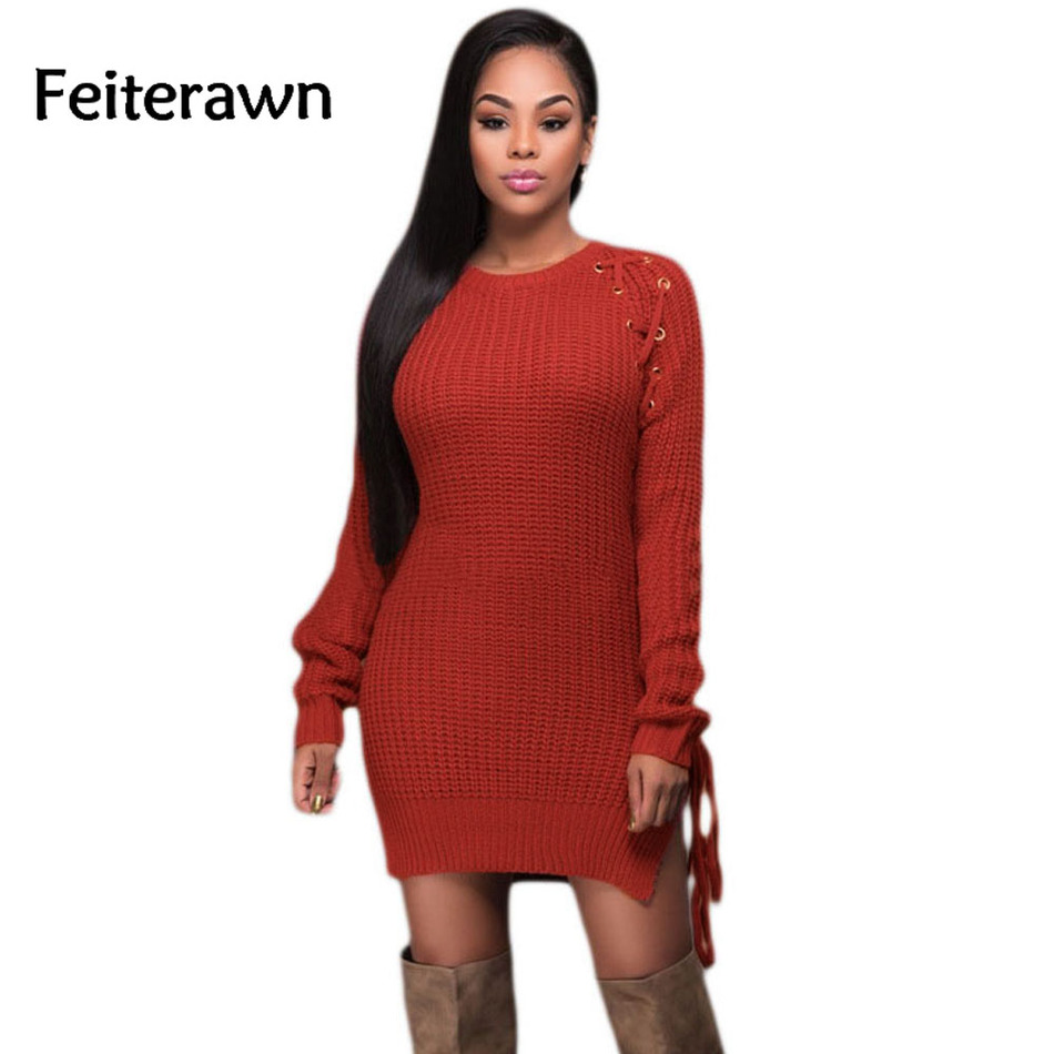 100  [ Red Sweater Dresses ]   Honoring Hygge Sweater Dress In ...