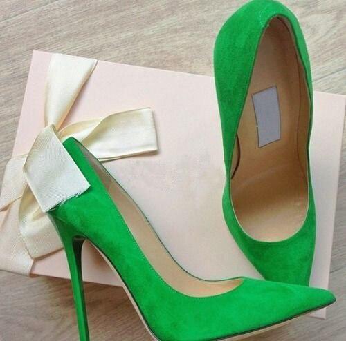Bout Dropship Printemps Talon Pointu Daim Showed Concise Prix Rose Beige Ol Robe Pompes D'été As Chaussures Modèle En Color Gros as Aiguille Vert Color UrU7w