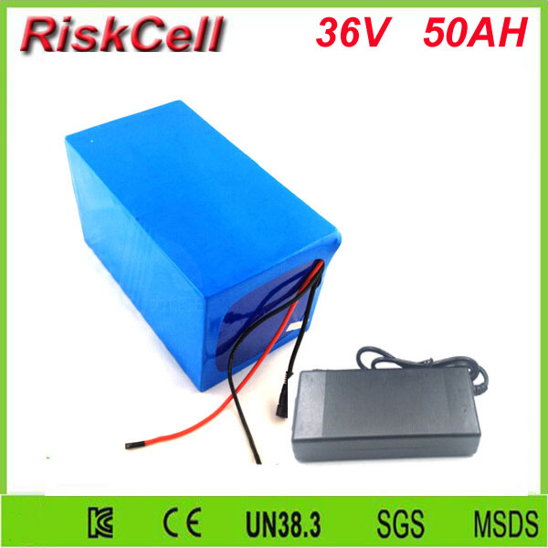 Free customs taxes high quality li-ion battery 36v 50ah 26650 battery pack 36v 1000w lithium ion battery  for  EV,UPS,power bank