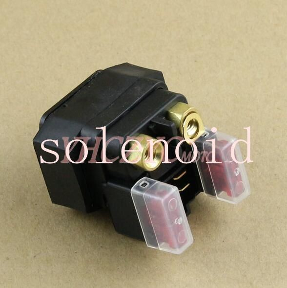 Motorcycle electric motor relay solenoid starter relay suitable