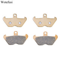 2 Pairs Sets Motorcycle Front Brake Pads For BMW R1200 C 96 02 1996 1997 1998