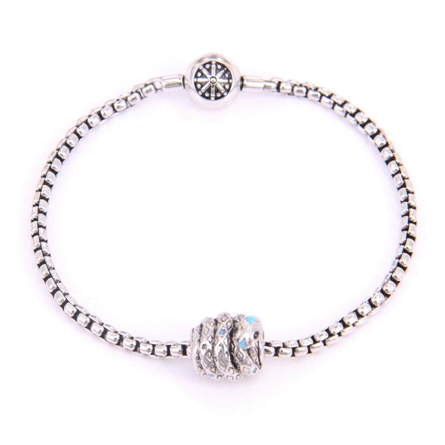 Купить браслет из бусин thomas km diy со змеей и бусинами браслет в