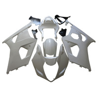 For Suzuki GSXR1000 K3 03 04 Full Fairing Kits Bodywork Cowl Injection Molded Unpainted GSXR 1000 GSX R 1000 GSX R1000 2003 2004