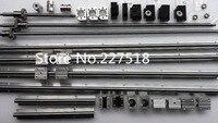 6 компл. линейный рельс SBR16 L300/1000/1300 мм + SFU1605 300/1000/1300 мм ШВП + 3 BK12/BF12 + 3 DSG16H гайка + 3 муфта для ЧПУ