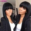 Pullip синтетические парики афро длинные прямые черный коричневый парик волос с челкой парик femme длинные женские парики парики pelo естественно