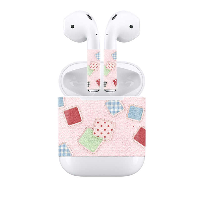 Free Drop Shipping Customizable For Apple Airpods Skin Stickers Custom Made Personalized Cute Airpods Stickers Decal