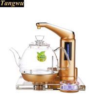 NOVA Alta qualidade All-inteligente automático de água chaleira elétrica forno chá de arte em vidro cristal