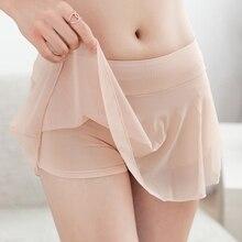Специальное предложение, настоящее женское нижнее белье Kleding, юбка-брюки, леггинсы из модала, полускользящая подкладка, нескользящая Нижняя юбка