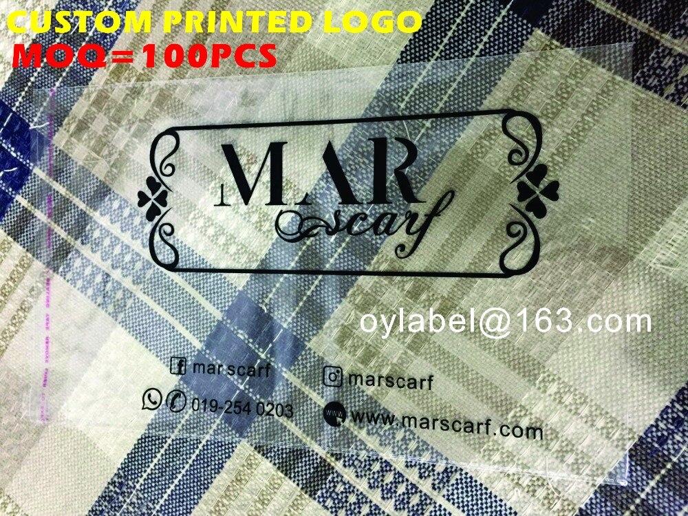 Custom printed OPP BAG BAG clothes bag clear self adhesive self poly opp plastic bag