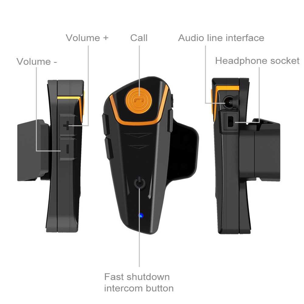 Motorrad Bluetooth Helm Intercomunicadores Motorrad Intercom Helm Headsets Drahtlose Bluetooth Sprech Freisprecheinrichtung