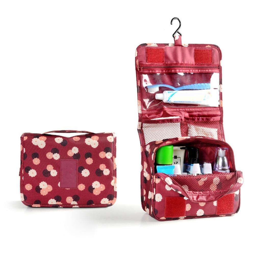 Travel Cosmetic Makeup Bags Storage Organizer Box Toiletry Case Hanging Bag Women Make up Multifunction Organizer