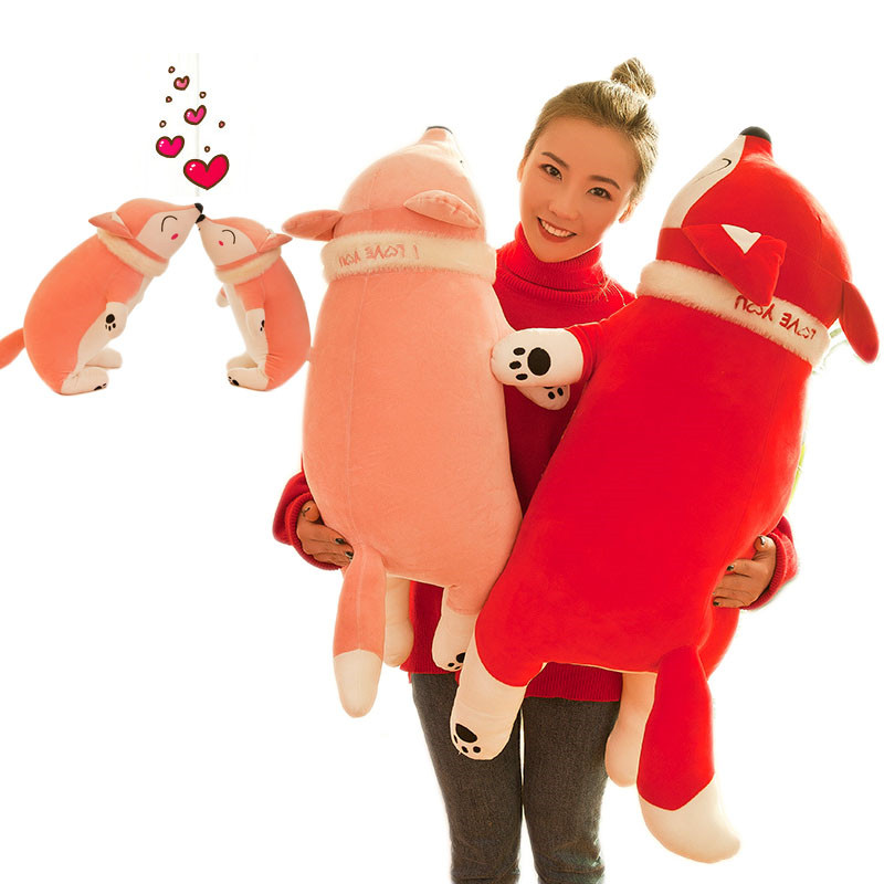 Toys & Hobbies 60cm Stuffed Toy Plush Animals Soft Kids Baby Toys Children Girls Boys Holiday Christmas Gift Kawaii Cartoon Pillow