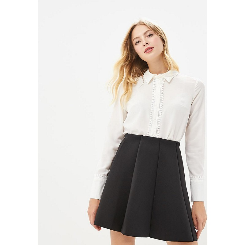 Blouses & Shirts MODIS M182W00391 blouse shirt clothes apparel for female for woman TmallFS plus collar knot blouses