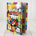 Tsum Tsum Mickey Minnie Dos Desenhos Animados Crianças Colorido Livro Para Colorir de Educação Precoce Contendo Papel Com o Desenho da Vara