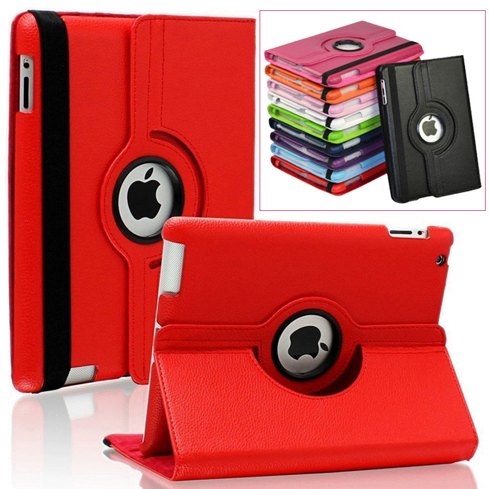 Case Cover For Apple iPad Air 2/iPad 6 (2014)360 Rotating PU Leather for iPad Air 2 Protector tablet Cases Y2A14D