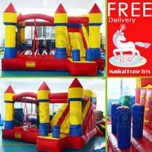 Trampoline Bouncy Castle Outdoor Fun & Sports Free Shipping By DHL