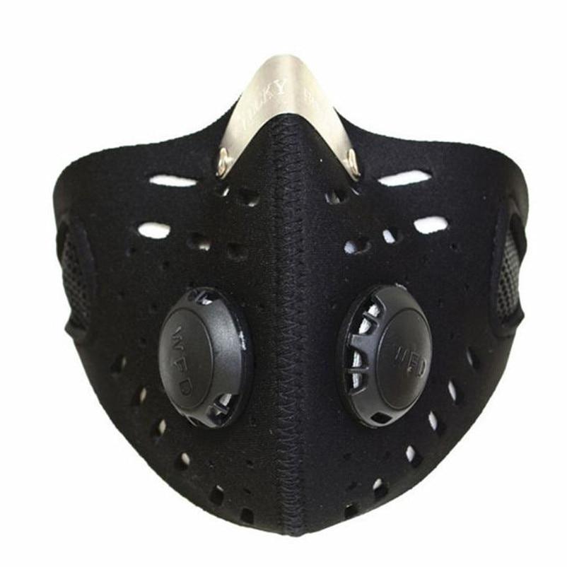 New Running Anti Dust Dustproof Motorcycle Riding Bike Ski Half Face Mask Filter