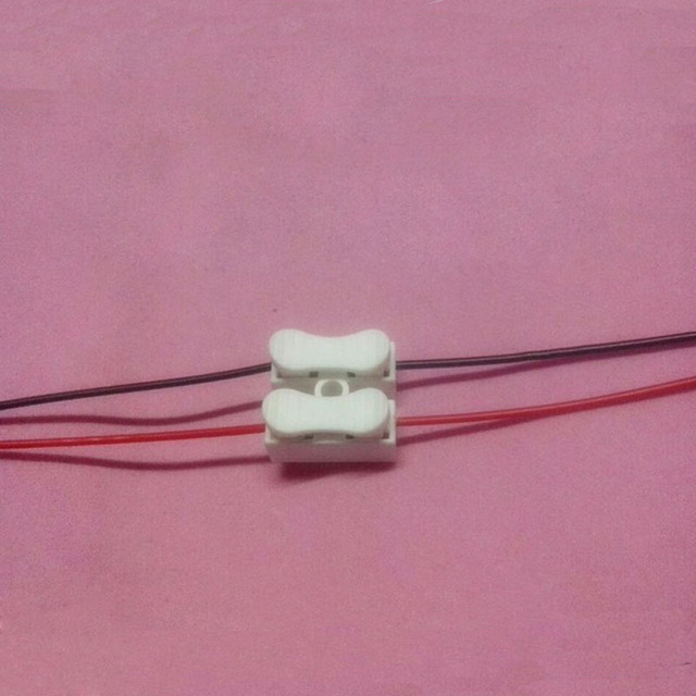 Terminal 2 Push Wire Terminal Block Connector Plug For Quick Wire ...