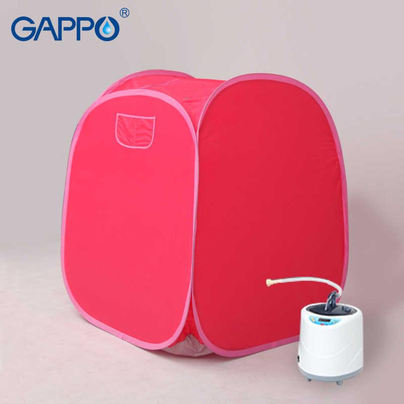 GAPPO Паровая сауна портативный Паровая Ванна домашняя паровая сауна номер инфракрасная сауна коробка спа с парогенератором емкость 2L потеря веса
