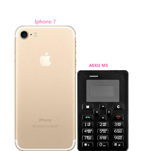 AEKU M5 The Hottest Children Mini Phone Color Screen With English/Russian Keyboard PK Ultra Thin Cell Phones PK AEKU C6 X8