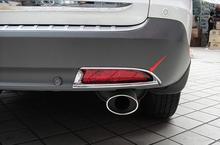 Chrome Rear Fog Light Cover Trim 2 Pcs  For honda CRV 2012 2013 2014