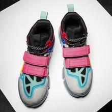 Summer Men New Tide Street Skateboarding Shoes Boy Outdoor Trekking Sneakers Soft Flat Walking shoes Zapatillas hombre deportiva