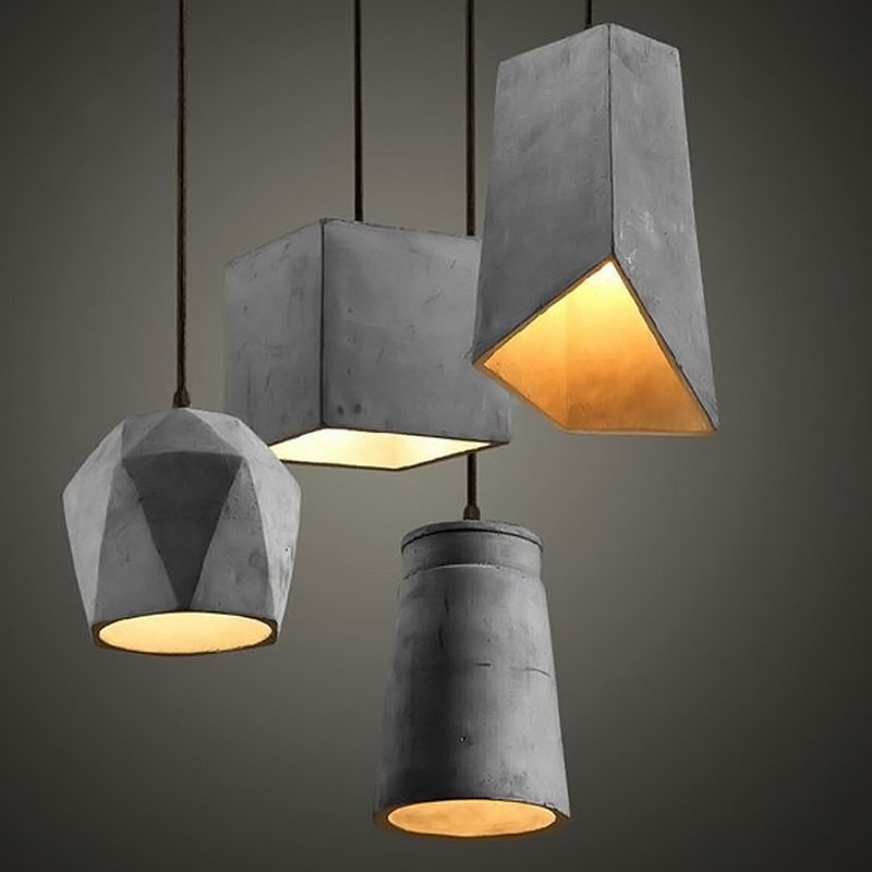 American Country Style Cement Chandelier Retro Easy To Install E 27 Creative Internet Cafe, Cafe, Restaurant, Clothing Store, American Country Style Cement Chandelier Retro Easy To Install E 27 Creative Internet Cafe, Cafe, Restaurant, Clothing Store,