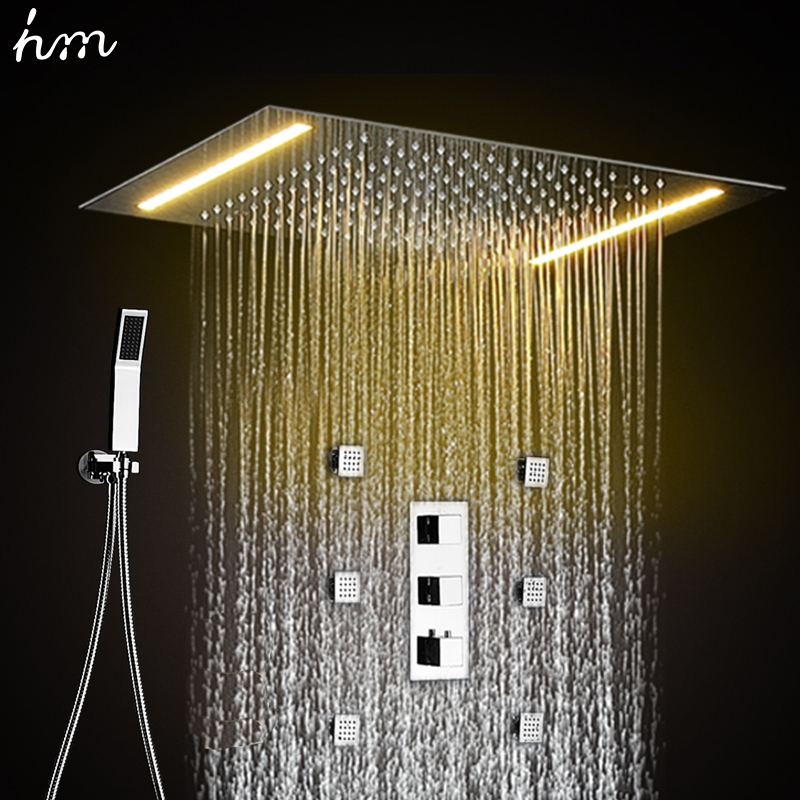 Hot sale China Modern style stainless steel shower 3 function water ...