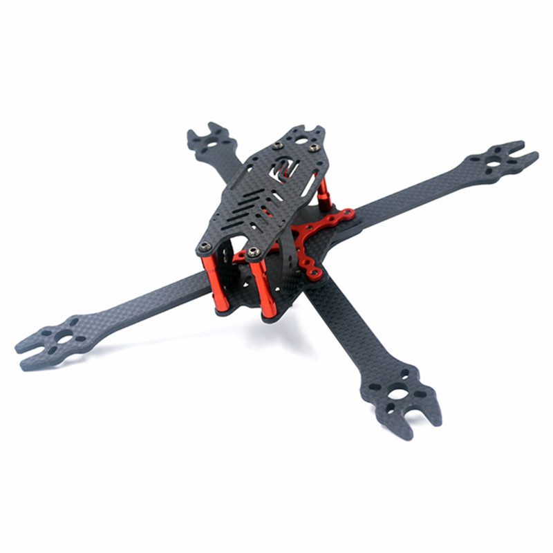 F2 Mito210 210mm True X Type 4mm Arm Carbon Fiber Frame Kit For RC Camera Motor Models Multirotor Quadcopter Spare Part realacc kt100 100mm carbon fiber frame kit for rc quadcopter multirotor fpv camera drone x type frame accessories purple